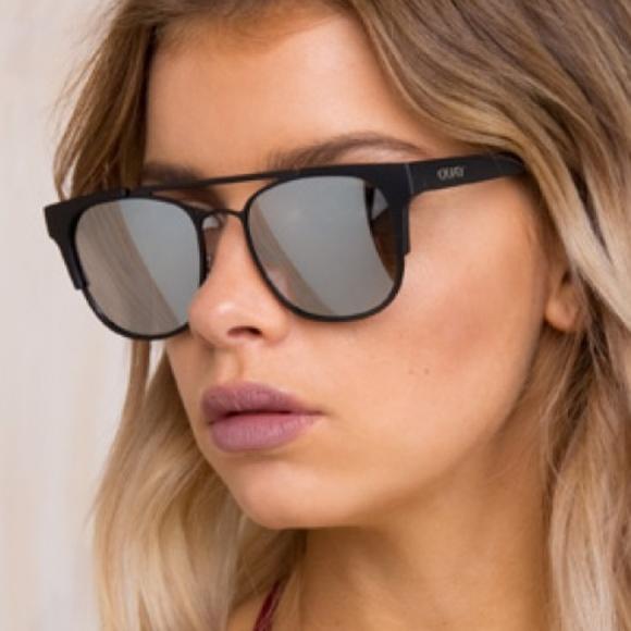 7ec802efba Quay high and dry black mirrored sunglasses NEW. M 5ab25ff0d39ca22e0b5cc32c